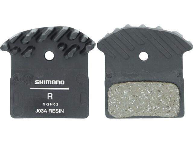 Shimano Ice-Tech J03A Resin Plaquettes de frein à disque 25 pièces